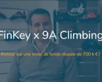 Une levée de fonds réussie avec 9A Climbing !