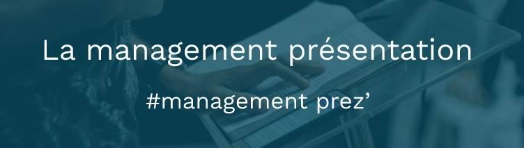 La management présentation FinKey
